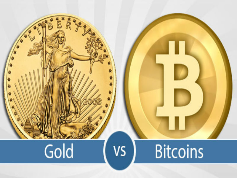 Gold VS Bitcoin Showdown