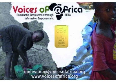 Karatbars Voices of Africa Charity