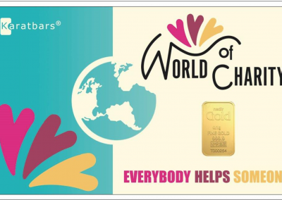 Karatbars World Of Charity Card