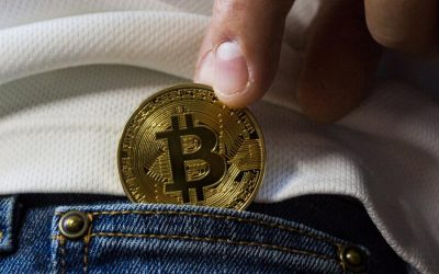 Anxious bitcoin speculators have sought refuge in gold amid a price plunge in the cryptocurrency.